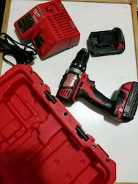Milwaukee M18 drill, charger and 2 batteries Burlington, L7L 2Y3