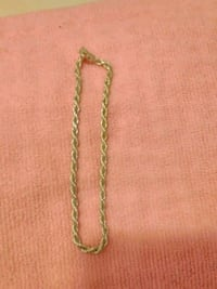 gold-colored chain necklace Shafter, 93263