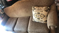 two brown-and-white throw pillows 452 mi