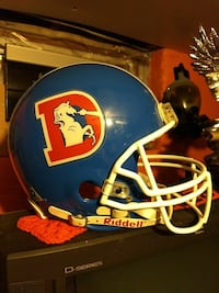 Riddell Broncos Helmet,check the more info tab.    Kingston, 18704