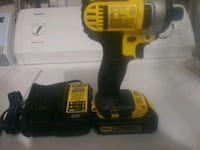 black and yellow DeWalt cordless power drill Sterling, 20164