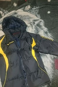 black and yellow zip-up jacket Middlesex County, N0L