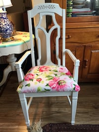 Vintage armchair newly reupholstered & painted Odenton, 21113