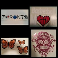 customized vinyl decals, shirts, hats and more Brampton, L6T 3Z1