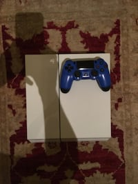 White ps4, all cords, 2 games