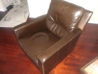 brown leather padded recliner Washington, 20001