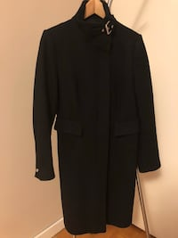 WOMEN'S ZARA BLACK WOOL COAT Toronto