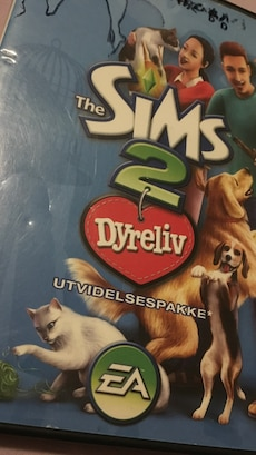 The Sims 2 Dyreliv spill