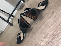 Black Tortoise Wedge Mule Los Angeles, 91601