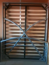 Make an offer* 5 piece bed frame with all hardware. Las Vegas, 89122