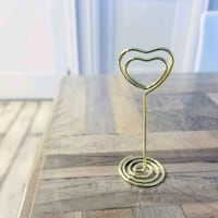NEW Gold heart shaped holders Mississauga, L5M 4V3