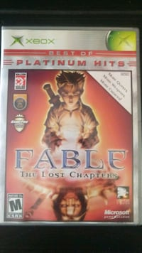 Fable lost chapters Xbox works great Los Angeles, 91342