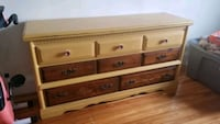 Refinished, distressed vintage dresser Somerville, 02145