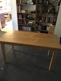 rectangular brown wooden table with chairs Anaheim, 92805