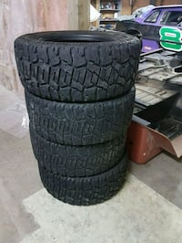 33x12.50r20 fun country mud tires  Kitchener, N2C 2T3