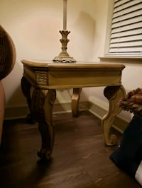 brown wooden table with mirror Houston, 77079