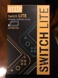 TWO Switch lite screen protectors Vancouver, V6K 2A4