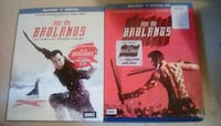 Blue ray season one and two into the badlands Spring Hill
