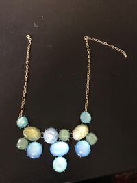 Costume blue green bubble style necklace  Stamford, 06902