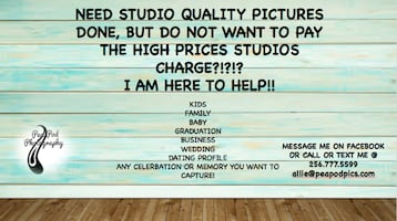 Photo Sessions Available