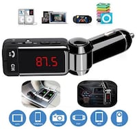 Bluetooth car kit MP3 player fm transmitter dual car charger handsfree talk Virginia Beach, 23462