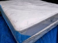 Pillowtop king bed, delivery 50. 2019 Mattress
