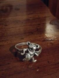 Greatful dead dancing bear collectors edition ring Westminster, 29693