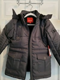 Izod Charcoal New Hooded Coat/Jacket - 6Yr old  Fairfax, 22033