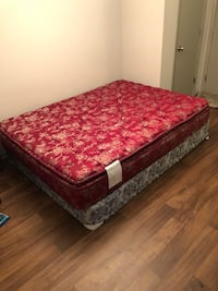 Gently used Queen Mattress & Box Spring def Louisville, 40206