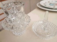 Stacked crystal tealight with ring holder  Whitby, L1N 8X2