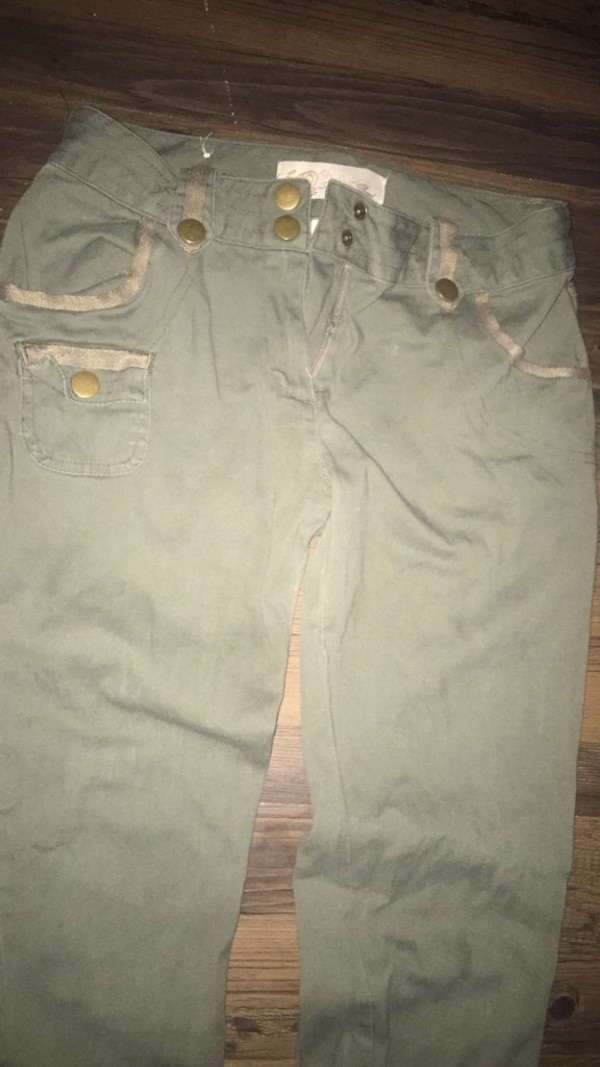 Olive green I.Q aunthentic brand jeans