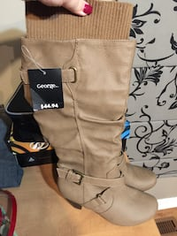 New George high heel boots still have tag  Barrie, L4N 5K2