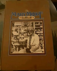 Collectiable Mary Moore Cook Book 1978