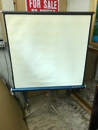 Vintage Radiant Projection Screen