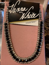 Vanna White crystal necklace Revere, 02151