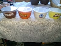 Brand New candy bowls w/ lids.