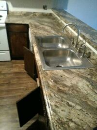 Kitchen and bath counter tops and sinks