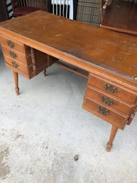 """Desk 43"""" wide some scratches on top $35 Taneytown, 21787"""