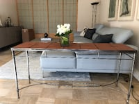 BEAUTIFUL TILE CONSOLE TABLE NEWYORK