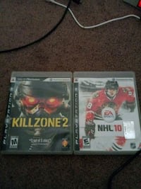 two Sony PS3 game cases Endicott, 13760