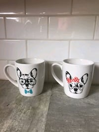His & Hers Frenchie Mugs Edmonton, T5K 0S9