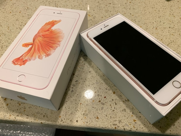 UNLOCKED iPhone 6s Plus 64gb great condition. rose gold d0ea715a-9b6c-4a61-b1fc-8bdeb7726091