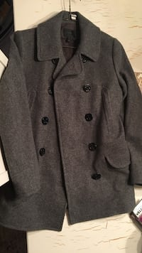 gray button-up coat Springfield, 22153