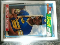Manny Ramirez tops rookie card Linthicum Heights, 21090