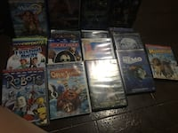 assorted DVD movie case lot 549 km