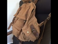 Muchuan Canvas back pack (Brand New) sac a dos en canvas Neuf Laval, H7G 1S8