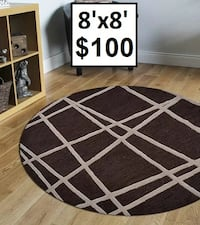 Hand-Tufted Brown Area Rug Mississauga