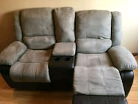 Leather Recliner Sofa Set in very Hood condition Ajax, L1S 3R8