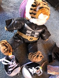 Build-a-Bear with several outfits/shoes!!