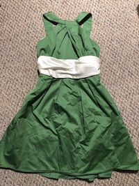 green and white sleeveless dress Calgary, T2C 3W9